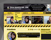 Sokak Röportajları v2 Web Design