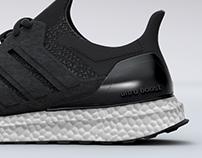 3D Sneaker Adidas Ultra Boost