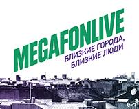 MegaFonLive Music Festival Posters