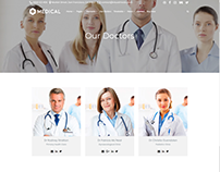 Doctors Page - Medical WordPress Theme