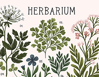 Herbarium ~ vintage inspired print and pattern
