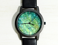 WenTi illustration watch design