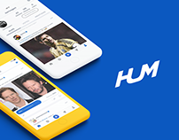 HUM App Redesign and Branding