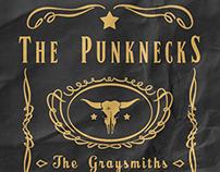 Jason & The Punknecks Flyer for Hoddies Bar & Grill