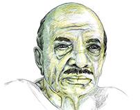 "Portrait ""M Basheer"""