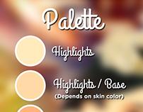 Palette For Vexel Art On Behance