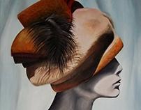 Portret z kapeluszem