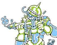 Gherkin soldier