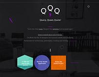 Personal Portfolio Web site - Q,Q,Q Designer