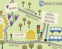 Arrival Map - Anfahrtsplan