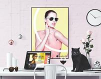 Sunglasshut.com Redesign