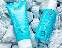 Moroccan Oil - Skincare Product Photography