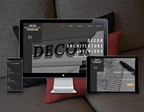 Website | Luxury architectural shop