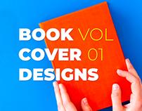 """BOOK COVER DESIGNS """"VOL 01"""""""