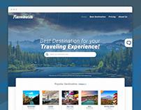 Travelearth - Website Concept