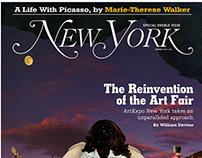 New York Magazine Proposed Illustration and Layout