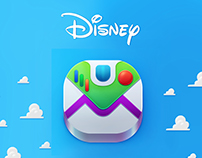 Disney Toy Story icons