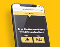 Er Big Mac med bacon fremdeles en Big Mac?
