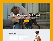 Good Dog Rescue Landing Page