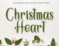Free Christmas Heart Script Font