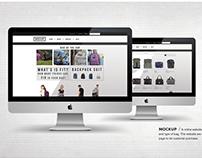 Mockup_ Online Shopping
