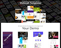 Webwall - 25+ Multipurpose Responsive Email Template