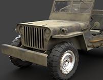 Stylized Military Truck