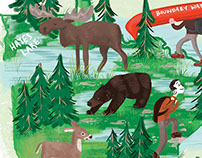 Minnesota State Parks Illustrated Map