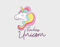 Logo Flawless Unicorn