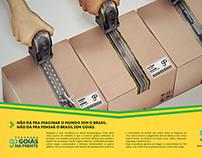 NÃO DÁ PRA PENSAR O BRASIL SEM GOIÁS