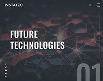 Web page for Instatec