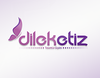 Dilek Etiz Tesettür Giyim Logo Çalışması
