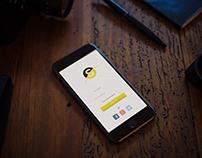 Client Project: App login page design