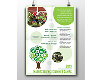 Math and Science Camp Promotional Materials