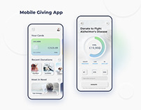 Mobile Giving App: UX/UI Project