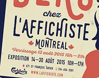 Exhibition Poster L'affichiste