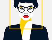 DG Face Shape Guide illustrations