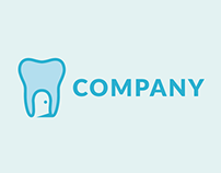 Creative Dental Logo | Free Cartoon Logo Design