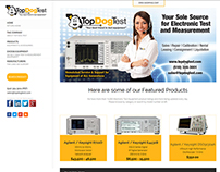 Top Dog Test Website
