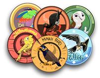 Bird Badges
