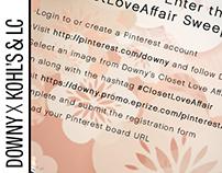 Downy, Kohl's & Lauren Conrad Pinterest Contest Designs