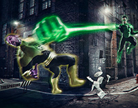 Green Lantern vs Sinestro