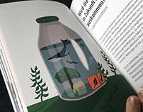 Editorial Illustration & Layout for Brandstätter Verlag