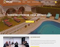 Site web corporate ISOPLACO