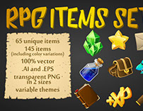 RPG pick up items