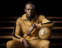Usain Bolt for Hublot | Photographed by Sandro Baebler