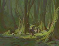 Momotaro - Visual Development