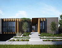 Project cover 01 - The Courtyard House