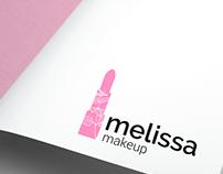 Identidade visual para Melissa makeup