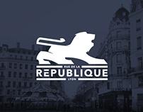GROSVENOR - Rue de la République Lyon Branding